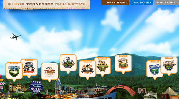 Tennessee Trails and Byways