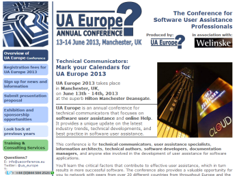 User Assistance Europe Conference
