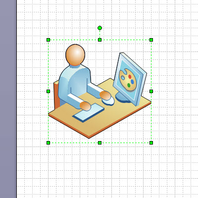 Copy the image from Visio