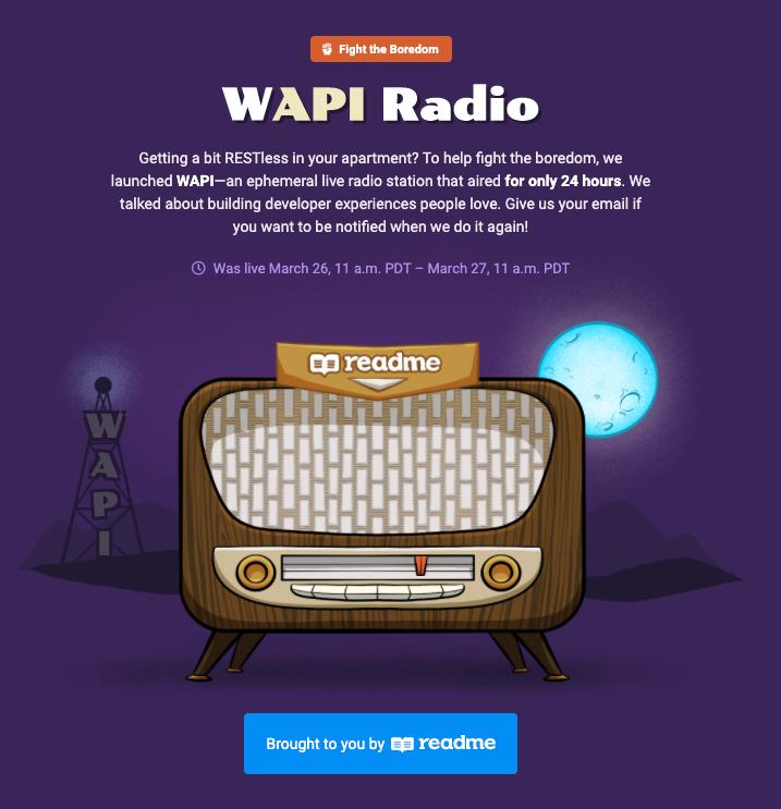 WAPI radio