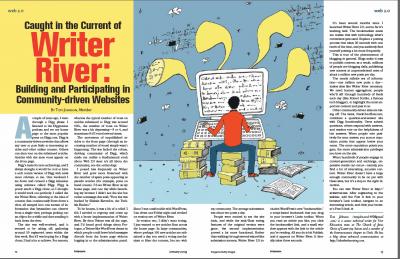 Writer River article in STC Intercom