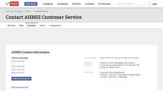 AHMSI Customer Service Phone Number (877) 304-3100, Email ...