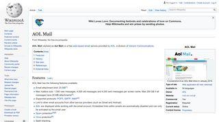 AOL Mail - Wikipedia