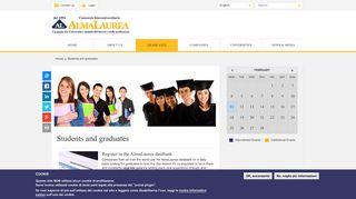 Students and graduates | AlmaLaurea