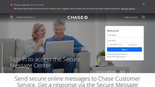 Secure Message Center - Customer Service - Chase.com