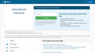 Amica Mutual Insurance (Amica): Login, Bill Pay, Customer Service ...