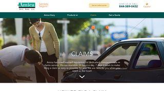 Amica Insurance - Filing a Claim