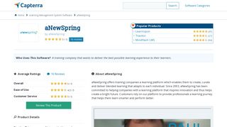 aNewSpring Reviews and Pricing - 2019 - Capterra
