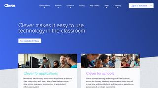 Clever: Powering technology in the classroom