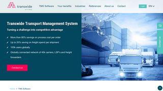 Transport Management System   Transwide