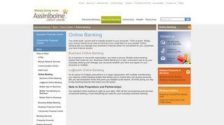 Assiniboine Credit Union - Online Banking