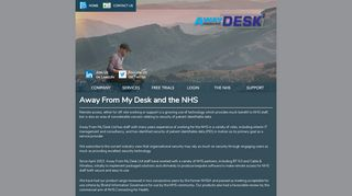 Away From My Desk and the NHS - AwayFromMyDesk.Com from ...