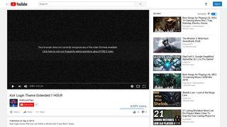 Azir Login Theme Extended 1 HOUR - YouTube