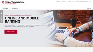 Online & Mobile Banking - Bank of Oklahoma
