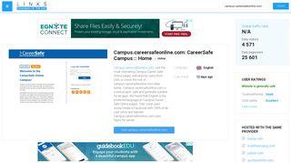 Visit Campus.careersafeonline.com - CareerSafe Campus :: Home.