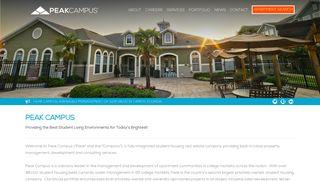 Peak Campus | Student Housing Management | Home