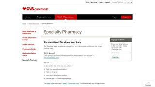 Caremark - Specialty Pharmacy