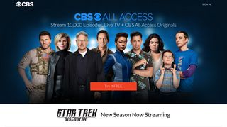 Stream and Watch Live TV, Sports & News with CBS All Access