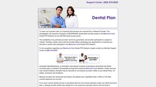 Chesapeake Life Insurance Company (CHESAPEAKE) dental plans