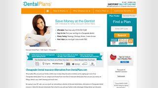 Chesapeake Dental Insurance Alternatives from DentalPlans.com
