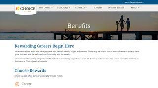 Corporate Benefits - Choice Hotels International