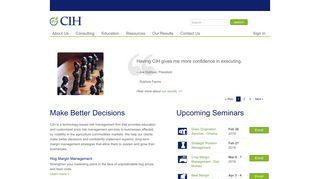 Commodity & Ingredient Hedging, LLC: CIH