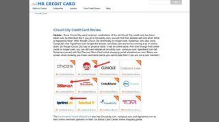 Circuit City Credit Card Review - Ask Mr Credit Card