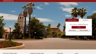 Stanford Axess: Welcome