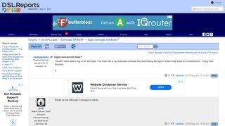 login.comcast.net down? - Comcast XFINITY | DSLReports Forums