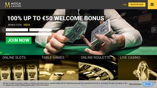 Mega Casino: Play Online Casino at the Best Gambling Site