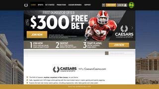 CaesarsCasino.com: Online Casino | Play With $10 Free on Us
