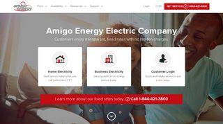 Electric Company: Amigo Energy in Texas   Call 855-448-5708