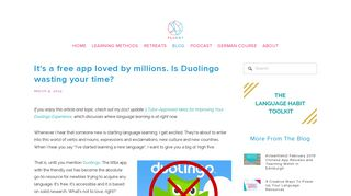 It's a free app loved by millions. Is Duolingo wasting your time? by ...