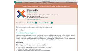 Edgenuity | Product Reviews | EdSurge