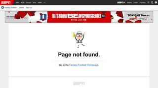 Play ESPN Fantasy Football - ESPN