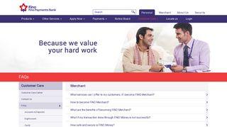 Merchant | Fino Payments Bank