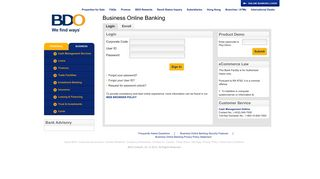 BDO Unibank, Inc. - Business Online Banking