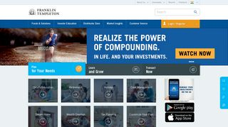 Mutual Funds   Buy Mutual Funds Online   Franklin Templeton India
