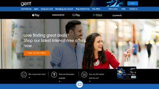 Interest Free Offers On Visa Credit Card Purchases | Gem Visa Card