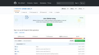GitHub - basecamp/google_sign_in: Sign in (or up) with Google for ...