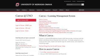 Canvas   Information Technology Services   University of Nebraska ...