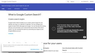 Custom Search | Google Developers