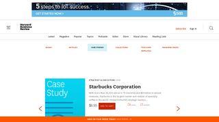 Shop HBR Case Studies - Harvard Business Review Store