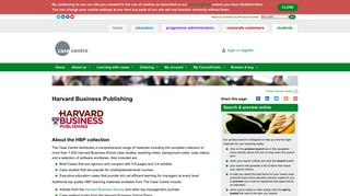 Case collection: Harvard Business Publishing | The Case Centre, for ...