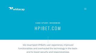 Case Study: HPI-Bet Woodbine Entertainment Group - Whitecap Canada