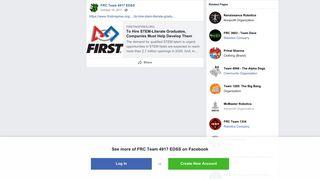 https://www.firstinspires.org/community/i... - FRC Team ... - Facebook