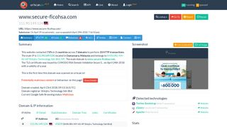 www.secure-ficohsa.com - urlscan.io