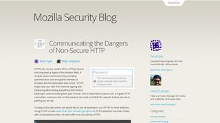 Communicating the Dangers of Non-Secure HTTP | Mozilla Security ...