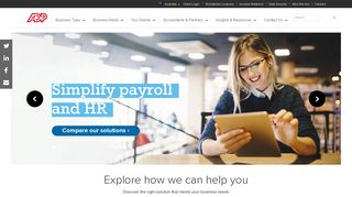 ADP | Payroll, HR, Timesheet & Rostering Solutions | Human Capital ...