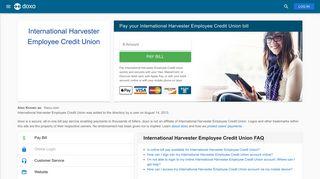 International Harvester Employee Credit Union: Login, Bill Pay ...